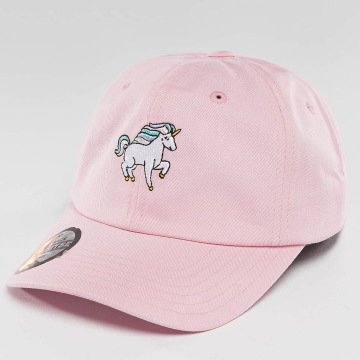 Just Rhyse Snapback Caps Unicorn růžový
