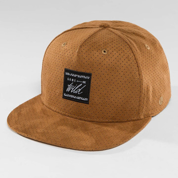 Just Rhyse Snapback Caps Tin City ruskea