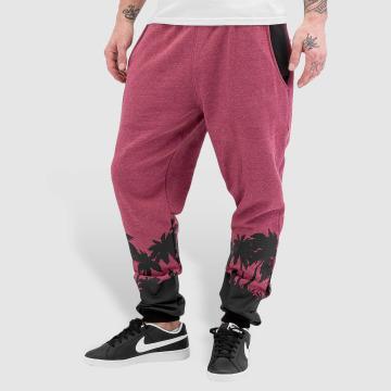 Just Rhyse Spodnie do joggingu Palm Beach czerwony