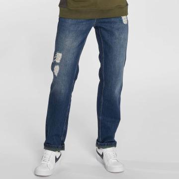 Just Rhyse Straight Fit Jeans Mattia blå