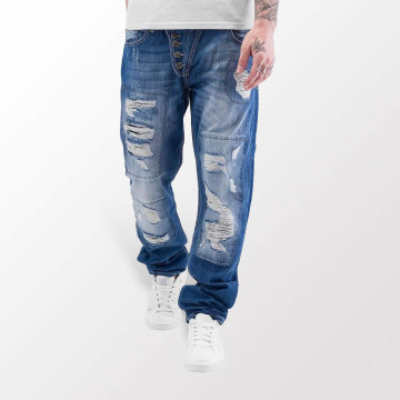 Just Rhyse Straight fit jeans Ilay blauw