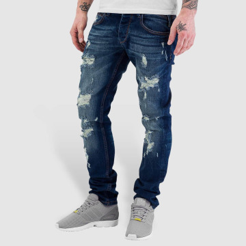 Just Rhyse Straight Fit Jeans Destroyed blue