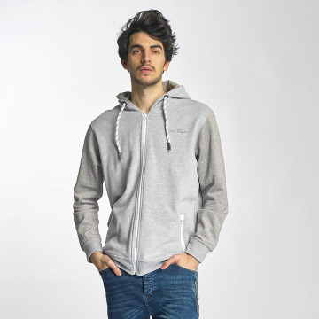 Just Rhyse Sweat capuche zippé Palo Alto gris