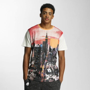 Just Rhyse T-shirt The NYC City bianco