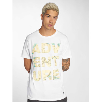Just Rhyse T-Shirt Mud Bay blanc
