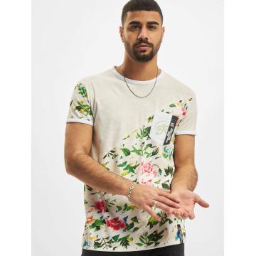 Just Rhyse T-shirt Floral grå