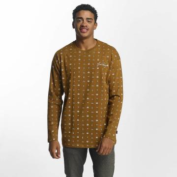 Just Rhyse T-Shirt manches longues Thane beige