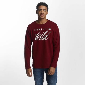 Just Rhyse T-Shirt manches longues Naukati rouge