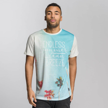 Just Rhyse T-Shirty Santa Barbara niebieski