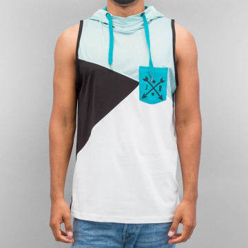 Just Rhyse Tank Tops Hooded бирюзовый