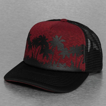 Just Rhyse Trucker Cap Palms red