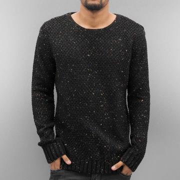 Just Rhyse trui Soft Knit zwart