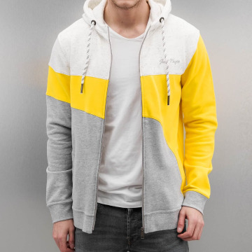 Just Rhyse Zip Hoodie Rusher žltá