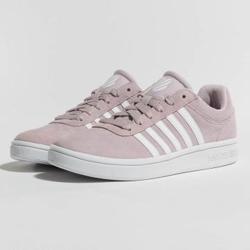 K-Swiss Sneaker Court Cheswick SDE rosa chiaro