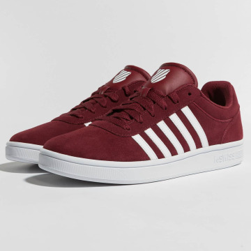 K-Swiss Sneakers Court Cheswick red