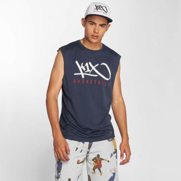 K1X Core Tanktop Tag Basketball blauw