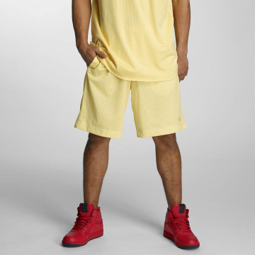 K1X shorts Pastel Big Hole geel