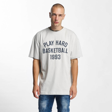 K1X T-Shirt Play Hard Basketball gris