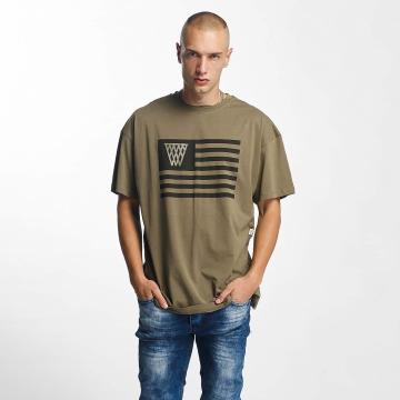 K1X t-shirt NOH Flag olijfgroen