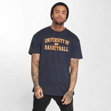 K1X T-skjorter University of Basketball blå