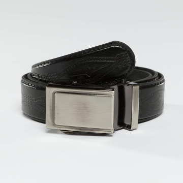 Kaiser Jewelry Gürtel Leather Belt schwarz