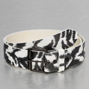 Kaiser Jewelry Gürtel Zebra weiß