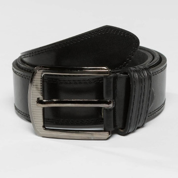 Kaiser Jewelry riem Leather zwart