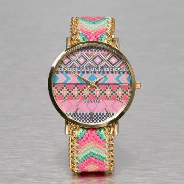 Kaiser Jewelry Uhr Textil pink