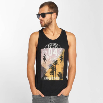 Kaporal Tank Tops Knitted black