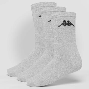 Kappa Ponožky Sonotu 3 Pack šedá