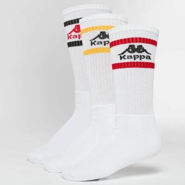 Kappa Ponožky Taxa 3 Pack bílý