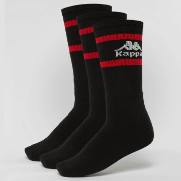 Kappa Socks Temmo 3 Pack black