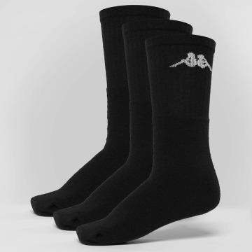 Kappa Sokker Sonotu 3 Pack svart