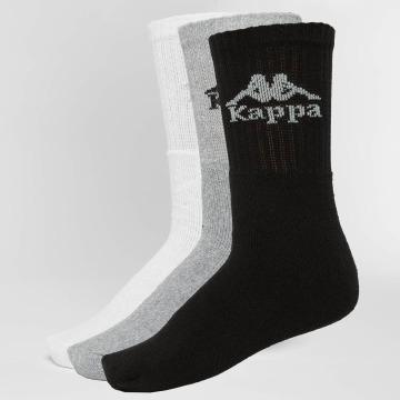Kappa Sokker Australien 3 Pack svart