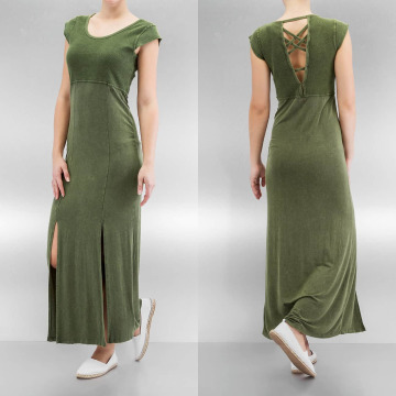 Khujo Платья Zaibu оливковый