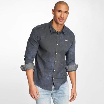 Khujo Рубашка Shagg синий
