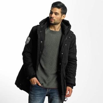 Khujo Manteau hiver Samuel noir