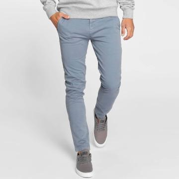 Khujo Pantalon chino Bendeict bleu