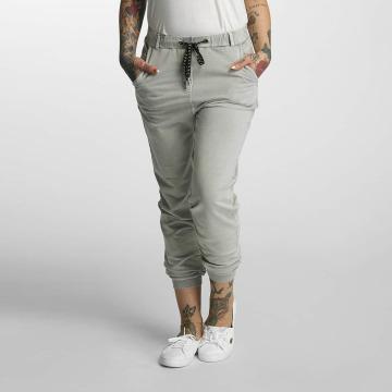 Khujo Pantalon chino Rafaela gris