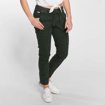 Khujo Pantalon chino Yosie vert