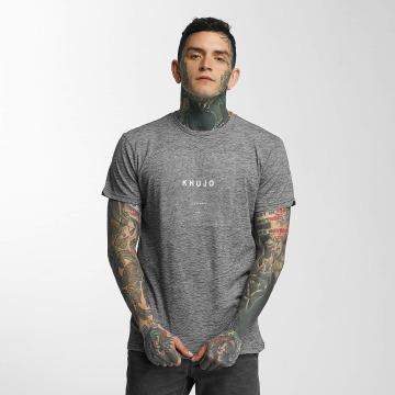 Khujo T-Shirt Tribe grau