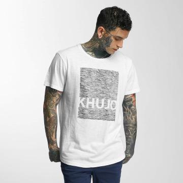 Khujo T-Shirt Tario weiß