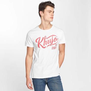 Khujo t-shirt Tagos wit