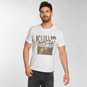 Khujo t-shirt Thyrone wit
