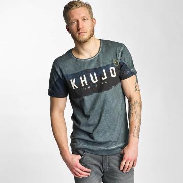 Khujo T-shirts Toulouse grøn