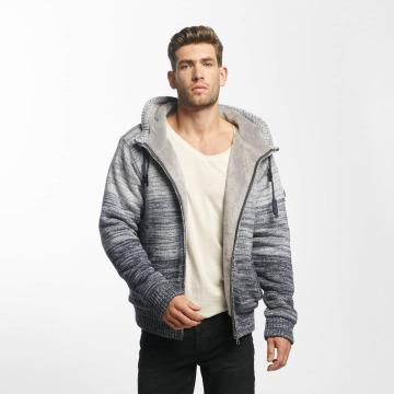 Khujo Transitional Jackets Prib Knit grå