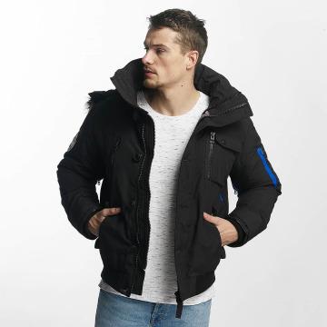 Khujo Winterjacke Vasco schwarz