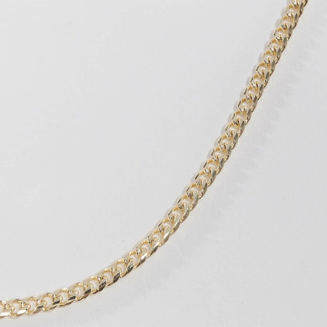 KING ICE Łańcuchy Gold_Plated 3mm Miami Cuban Curb Chain zloty