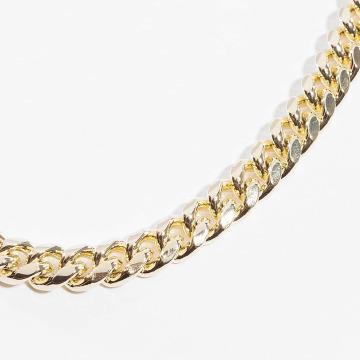 KING ICE Cadena Miami Cuban Curb Chains oro