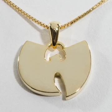 KING ICE Kette WU-TANG CLAN Gold_Plated 925 Sterling_Silver